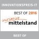 Best of BPM 2016 INNOVATIONSPREIS-IT